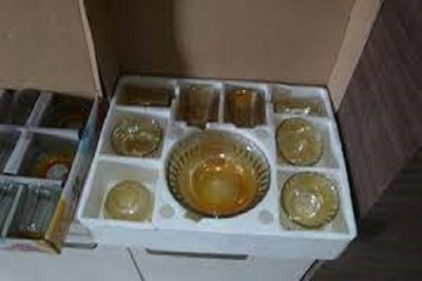 thermocol dinner set packaging