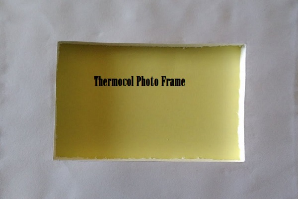 thermocol photo frames