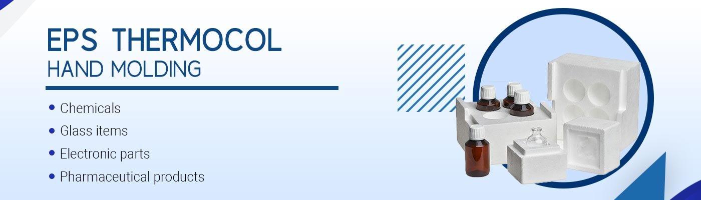 EPS thermocol-hand-molding